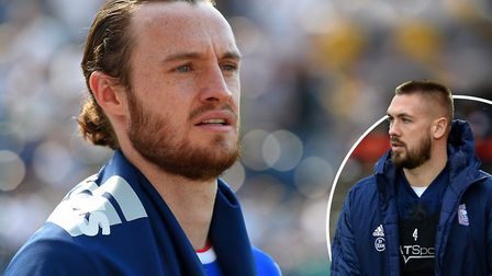 Luke Chambers wants Will Keane to stay at Ipswich Town. Picture: PAGEPIX