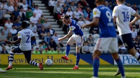 Will Keane has impressed during his time on loan at Ipswich Town. Picture Pagepix