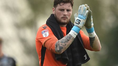 Ethan Ross, who is line to make his full debut for the U's today. Picture: RICHARD BLAXALL