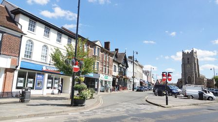 The health of retail in Sudbury's high streets could be a talking point in the 2019 elections. Pictu