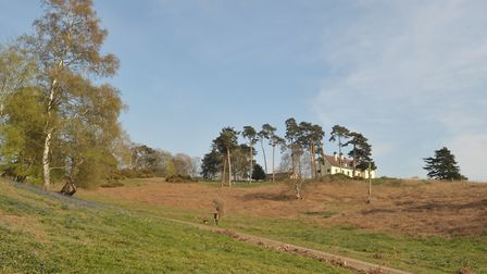 Visitors will now be able to enjoy new walks around the grounds with spectacular view of the river