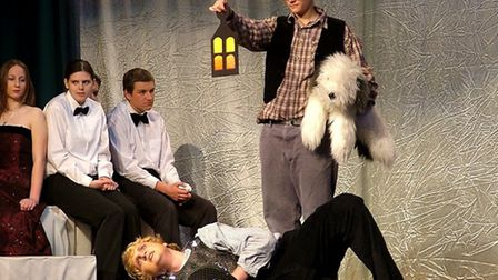 Leiston High School's modern production of A Midsummer Nights Dream in 2006. Picture: CONTRIBUT