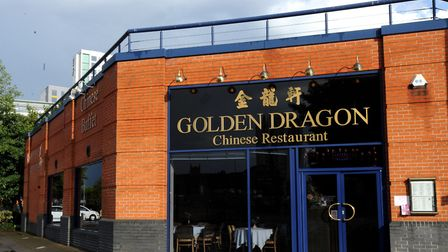 The Golden Dragon Chinese Restaurant in Cardinal Park, Ipswich, has closed down. Photo: Su Anderson.