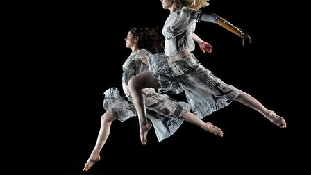 Candoco Dance Company performing at the DanceHouse Photo: Hugo Glendenning