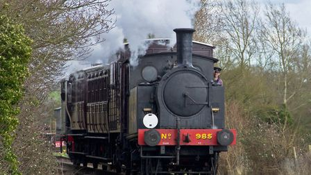 Middy trains will have a run of about 1km when the extension is completed, Picture: LAWRIE ROSE