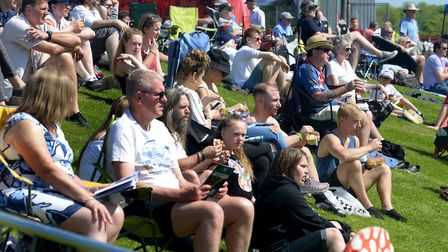 Crowds at last year's event at Bury Rugby Club Picture: ANDY ABBOTT