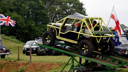 Visitors of all ages can enjoy the Suffolk Land Rover Owners Club course at the Suffolk Show Pictur