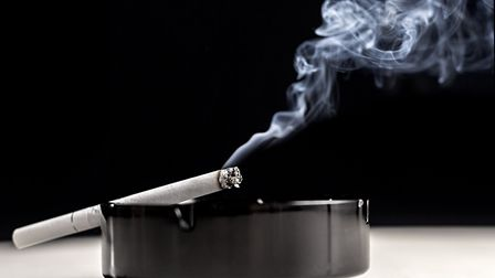 The dropping of a cigarette end has cost one man over �200 Picture: GETTY IMAGES/ISTOCKPHOTO