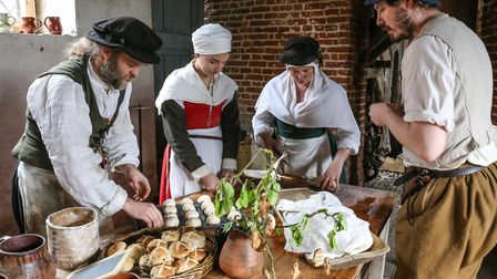 More than 70 costumed Tudors will take part in the event Picture: KENTWELL HALL