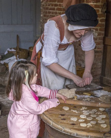 The Kentwell Hall Tudor recreation event starts on Good Friday Picture: KENTWELL HALL