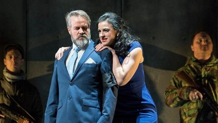 Macbeth, as staged by the English Touring Opera at Snape Maltings Photo: ETO-Alastair Muir