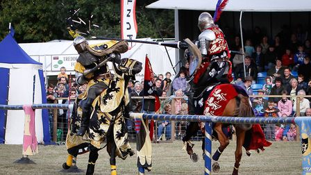 Cheer on your favourite knight at this action-packed event