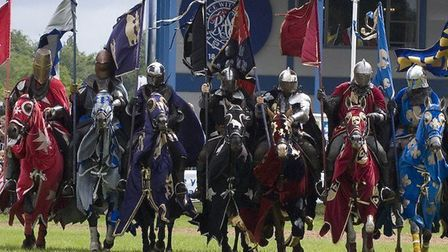 The Knights of Middle England are coming to Hedingham Castle