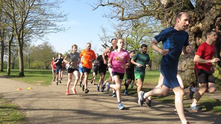 Runners enjoyed sunny conditions at the Ipswich parkrun. Picture: IPSWICH PARKRUN FACEBOOK PAGE