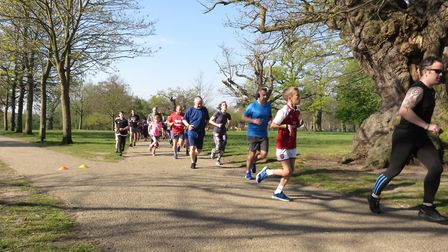 A record field of 502 took part in the latest Ipswich parkrun. Picture: IPSWICH PARKRUN FACEBOOK PAG