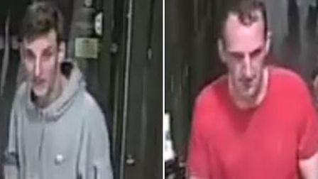 Essex Police want to speak to these two men about an incident that happened in Braintree McDonalds.