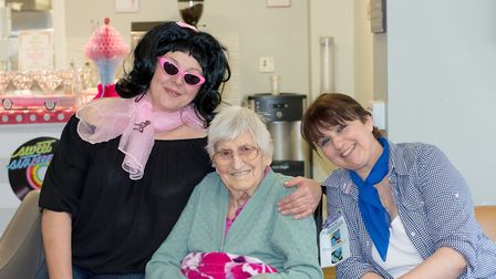 Residents and visitors stepped back in time into a 1950s diner complete with the Grease soundtrack.