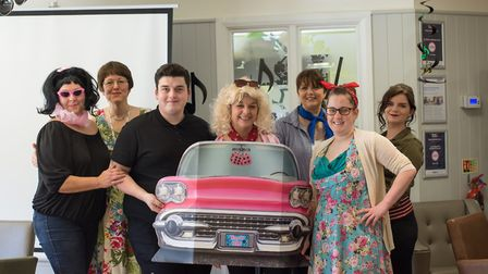 Care UK�s Hartismere Place, on Castleton Way, opened its doors for a Grease-themed celebration, as p