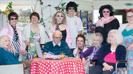 A care home in Eye treated residents and the local community to a blast from the past with its 1950s