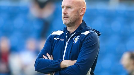 Colchester United head coach John McGreal. Picture: STEVE WALLER