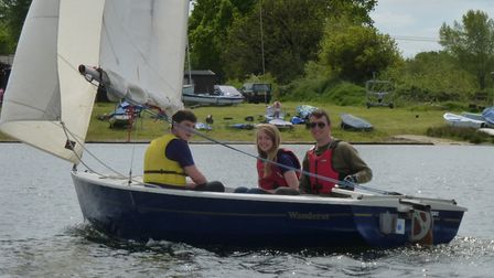 SESCA is inviting people to try their hand at sailing Picture: SESCA