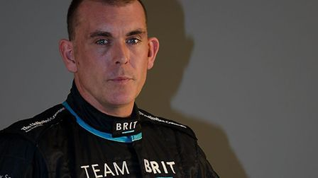 Warren McKinlay, from Braintree, is now a driver for Team BRIT but fought Cotard Syndrome after a mo