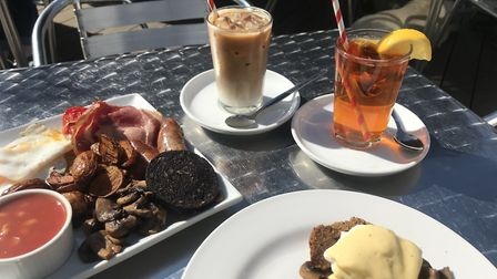 Brunch at The Tea Hut in Woodbridge PICTURE: Archant