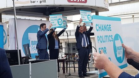 The Brexit Party will be contesting the European Election. Picture: RACHEL EDGE