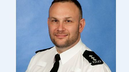Chief Inspector Gerry Parker, district commander for Chelmsford and Maldon. Picture: ESSEX POLICE