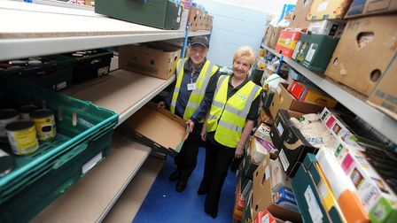 Colchester Foodbank is reporting a rise in the number of emergency food parcels it handed out last y