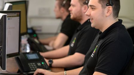 County Broadband operational control centre at its Essex headsquarters. Picture: WARREN PAGE