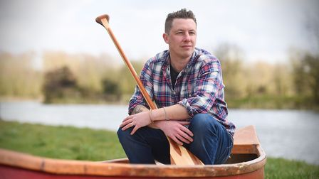Matt Gaw, whose book The Pull of the River includes accounts of his adventures on Suffolk's waterway