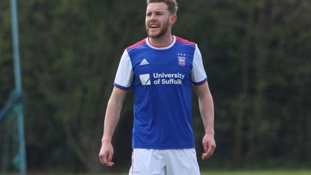 Leicester City loanee Callum Elder could get another start for Ipswich Town. Photo: Ross Halls
