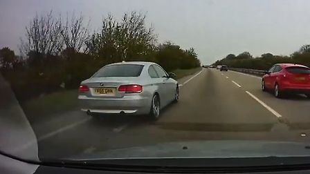 Police are keen to speak to the driver of this BMW Picture: ESSEX POLICE