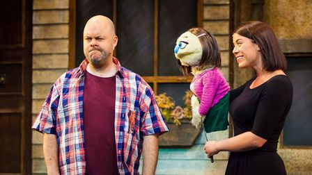 Avenue Q combines the look of the Muppet Show with the sharp satire of Spitting Image and the musica