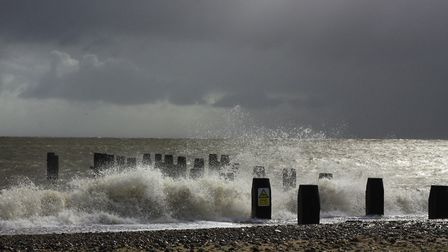 The strong winds could cause problems for costal areas, on major travel routes like the A12 and A14,