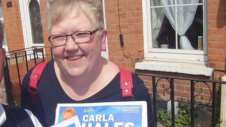 Conservative council election candidate Carla Hales was reportedly assaulted in the Bourne Mill area