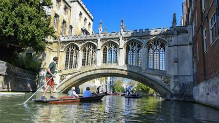 Easter weekend at Cambridge on the river Picture: BARRY PULLEN