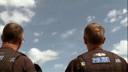 Essex Police's Drone Unit will be available to provide a live view of the county's coast Picture: E
