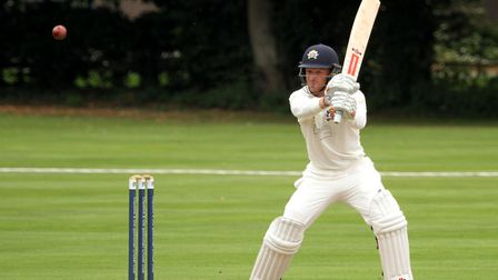 Andy Northcote, who scored 75 and took two for 29 in Woolpit's win over Ipswich. Picture: SIMON PARK