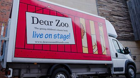 The Dear Zoo van was stolen in Peterborough Picture: THEATRE ROYAL