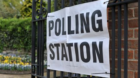 Voters will be taking to the polls in Suffolk on Thursday. Picture: SARAH lUCY BROWN