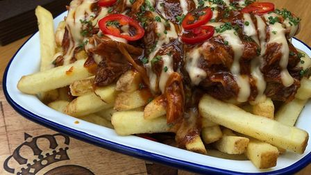 Loaded fries at Queen's Bar and Grill, Bury St Edmunds Picture: Ben Hutton