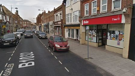 A man has been charged with the robbery of Kwik Serve convenience store in High Street, Clacton Pict