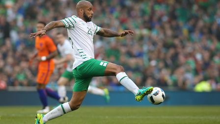 David McGoldrick has been capped eight times by the Republic of Ireland. Photo: PA