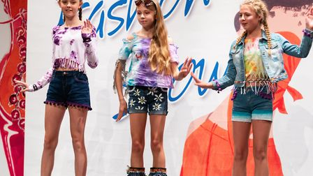 Students at St Mary's School in Colchester held a fashion show. Picture: ST MARY'S SCHOOL