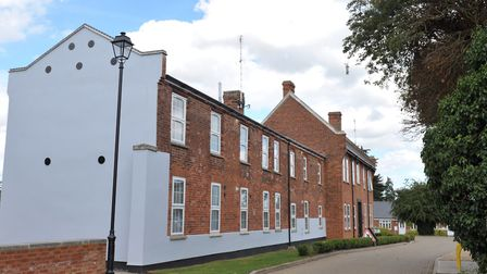 The former Victorian workhouse and infirmary in Wickham Market which is serving as an inspiration fo