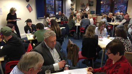 Forty-four enthusiastic quizzers helped to raise £658.05 for brain injury charity Headway Suffolk at