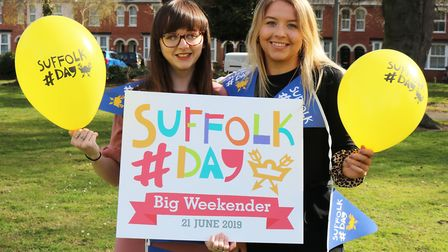 Let's celebrate Suffolk Day, 21st June 2019 Picture: CHARLOTTE BOND