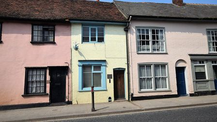 This timbered cottage in Sudbury has an asking price of £220,000. Picture: FENN WRIGHT